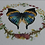 Thumbnail: Butterfly Wreath Watercolor Print