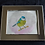 Thumbnail: Pretty Bird Original in Frame