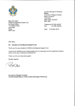 The Mayoral Appeal Fund