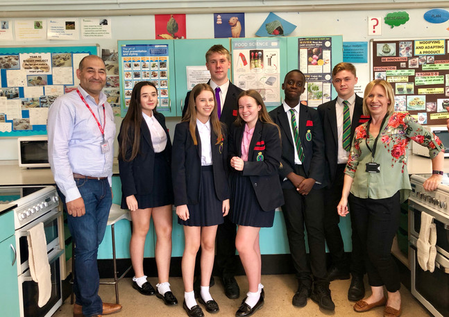Hallmead school enterprise day winners