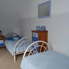 Chambre 2 étage Gîte du Feu
