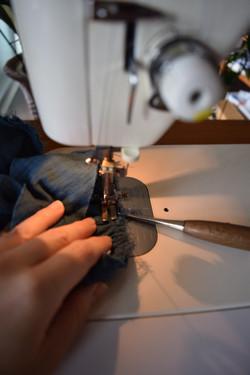 1 本縫い