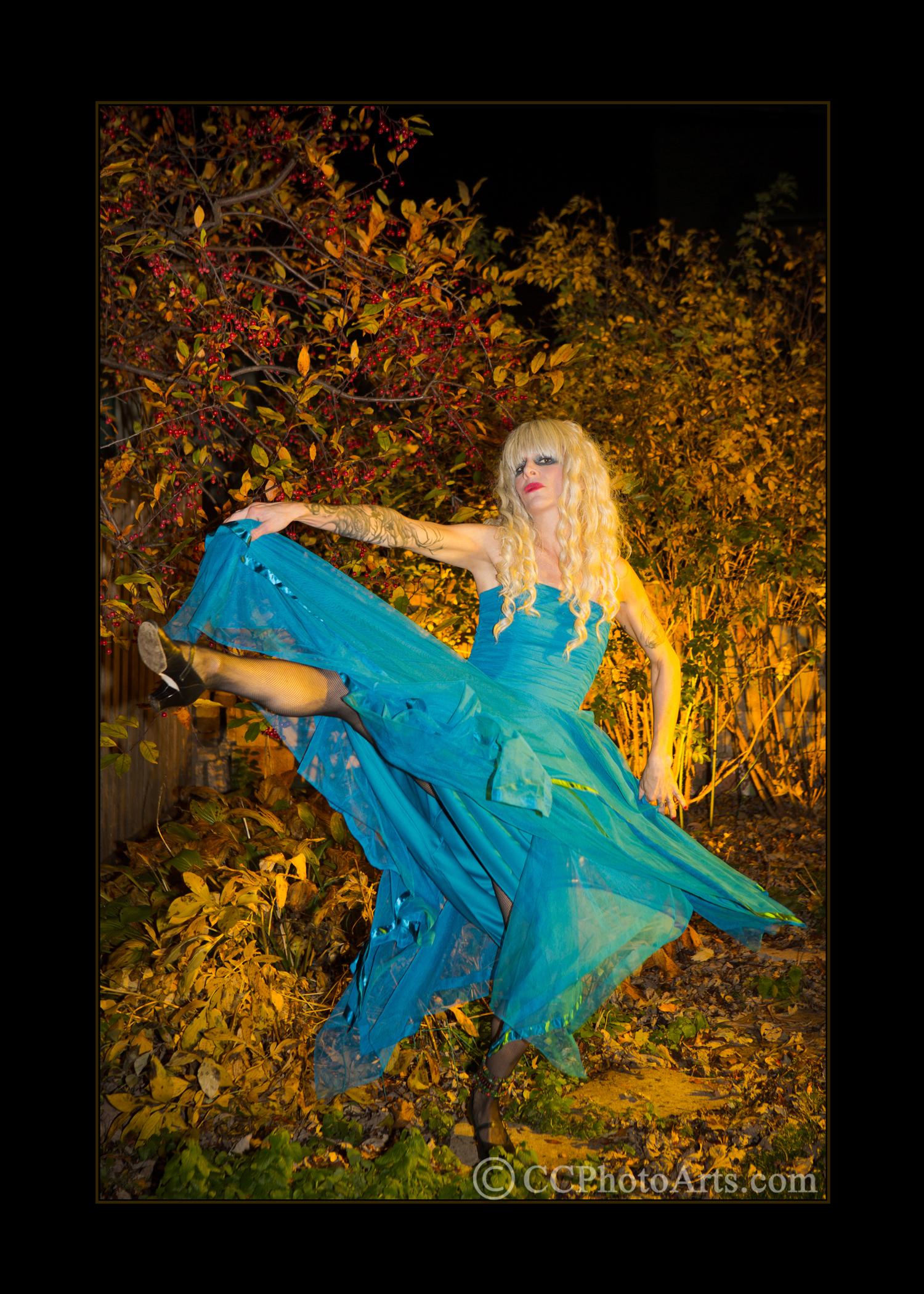 """Blue Iris Dancer"""