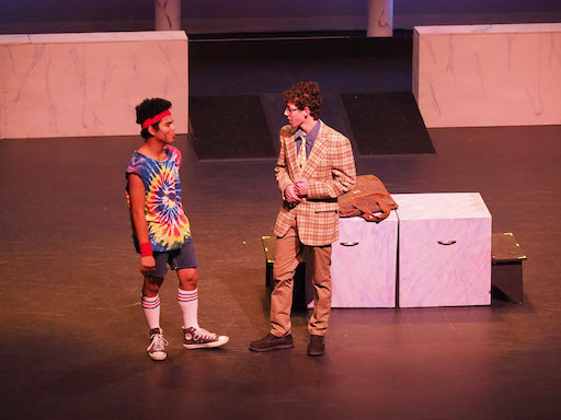 Sonny asks Danny for help in opening his roller disco
