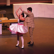 Danny dances with Kitty (A.K.A) Kira in a flashback