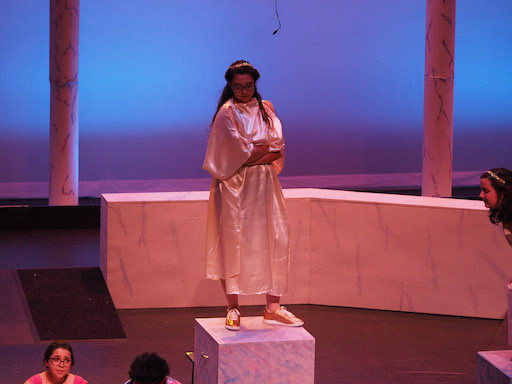 Goddess Hera judges Kira
