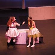Melpomene and Calliope plan a prank on Kira