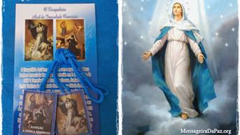 Escapulário Azul da Imaculada Conceição