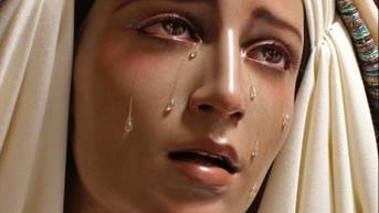 """Jacareí, 18 de março de 2018 - Mensagem de Nossa Senhora   """"...Trabalhem rapidamente, sacudam a"""