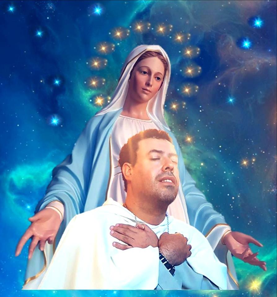 Marcos Tadeu e Nossa Senhora