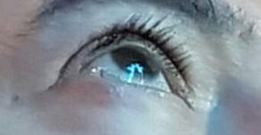 Vulto de Nossa Senhora aparece nos olhos do vidente Marcos Tadeu