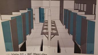 Ajude o Santuário - Construção dos banheiros