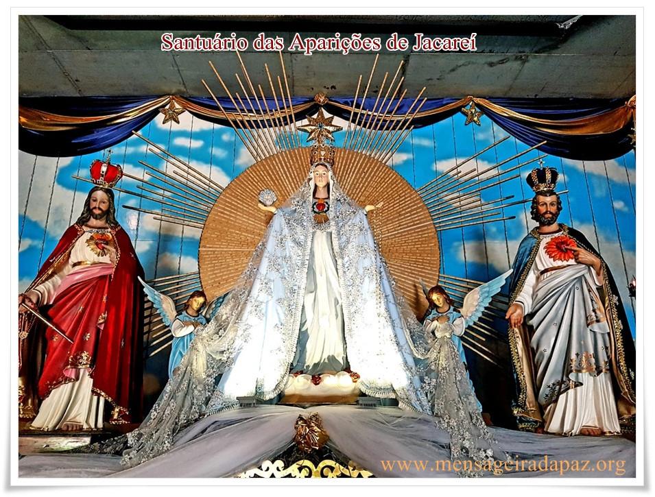 Altar principal da Capela das Aparições - Jacareí