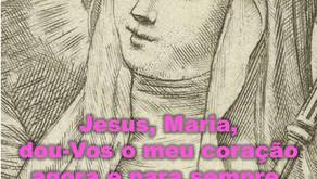"""""""Jesus, Maria, dou-vos o meu coração agora e para sempre"""""""