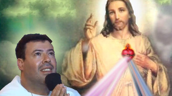 08.04.2018   Mensagem do Sagrado Coração de Jesus e de Nossa Senhora   Festa da Divina Misericórdia
