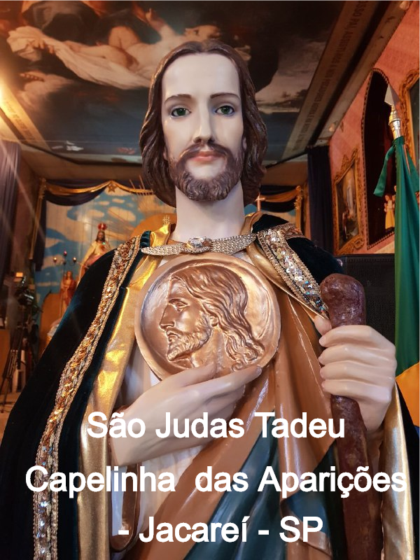 São Judas Tadeu aparicoesdejacarei