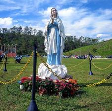 Imagem de Nossa Senhora no Pátio