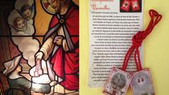 """19.07.2021 """"Continue divulgando o Escapulário da Paixão do meu Filho Jesus."""""""