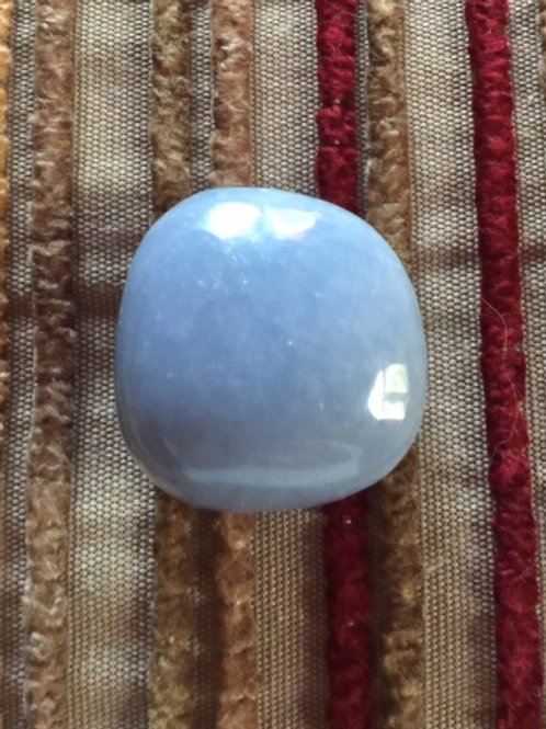 Blessed Tumbled Angelite Stone