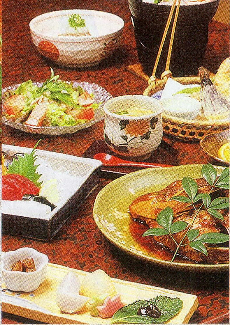 紅葉軒 夕食 一例