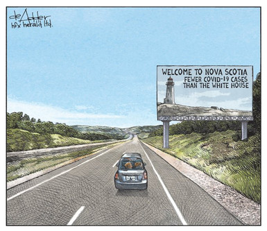 Welcome to Nova Scotia, Halifax Herald