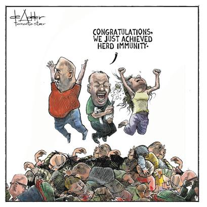 Herd Immunity, Toronto Star