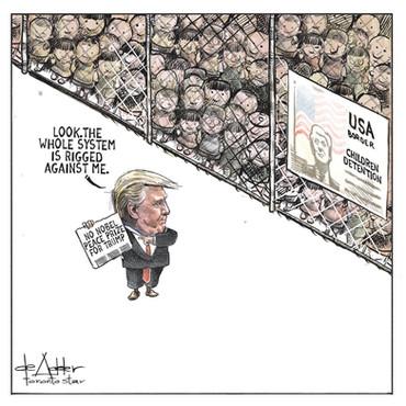 Nobel Peace Prize, Toronto Star