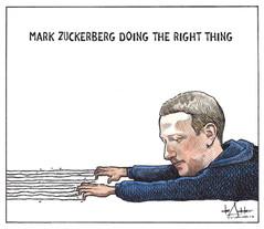 Mark Zuckerberg Doing the Right Thing