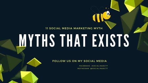 myths of social media marketing