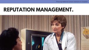 reputation management for dental clinics