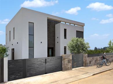 Location: Hefer Vally Total floor area: 260 sqm Total site area: 350 sqm Program: Single family house Design & built: 2018-2020