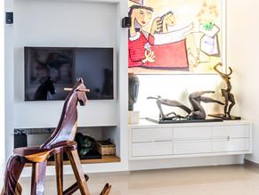 Location: Hod Hasharon Total floor area: 145 sqm Program: Artist apartment Design & built: 2015-2016