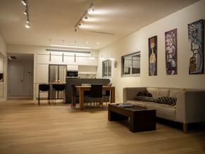 Location: Tel Aviv Total floor area: 115 sqm Program: Single family apartment Design & built: 2015-2016