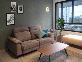 Location: Tel Aviv Total floor area: 115 sqm Program: Single family apartment Design & built: 2018-2019