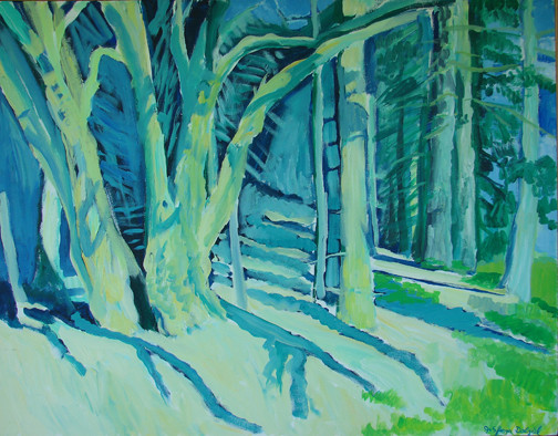 Spirit of the Forest 46x36