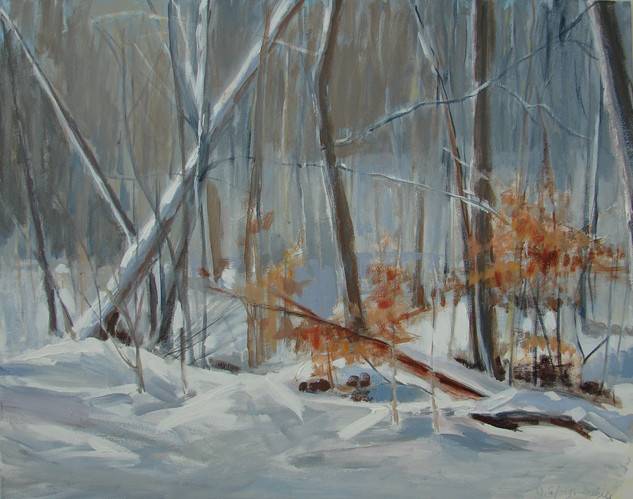 Metroparks in Snow 30x24