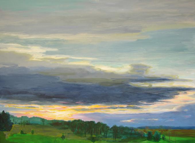Morning Sky 36x48