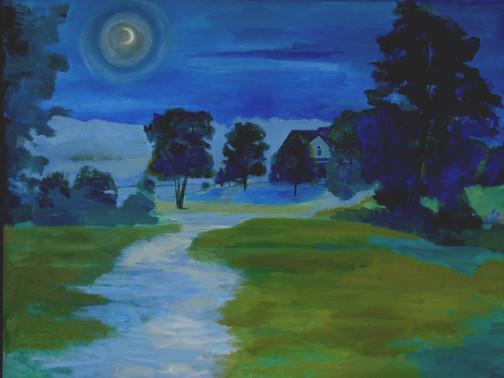 The Night 38x48