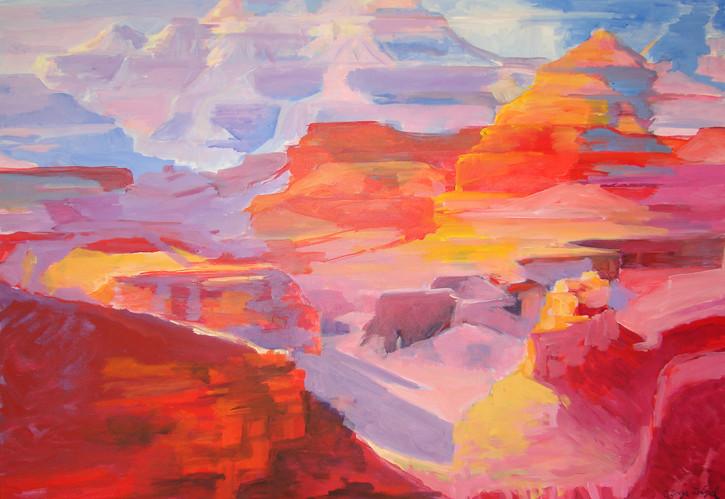Canyon Colors 40x30