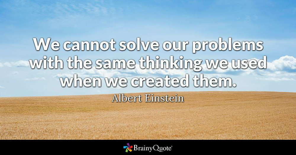 Albert Einstein quotation