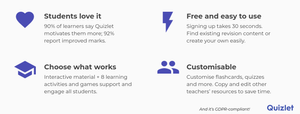 4 reasons why you should use Quizlet