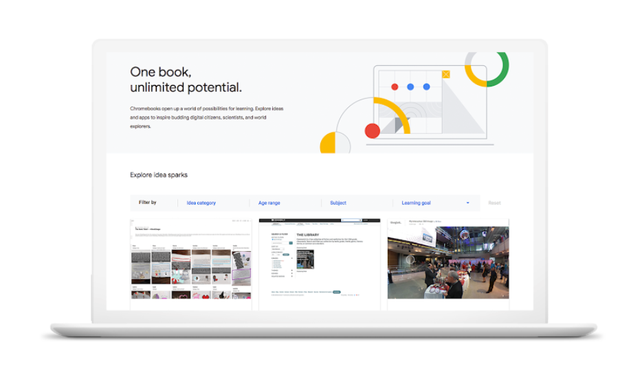 Chromebook App Hub graphic
