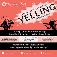 Family Communication Workshop