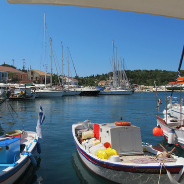 Fiscardo harbour