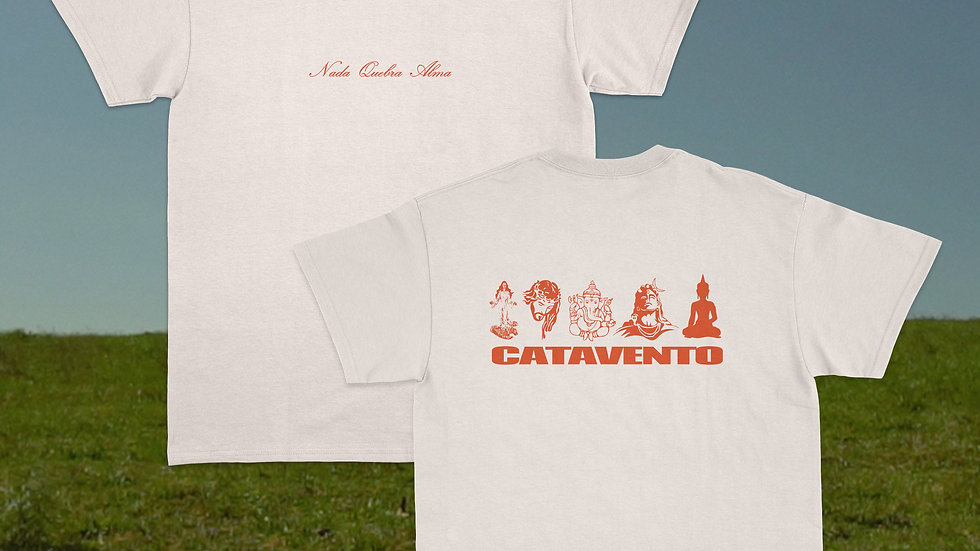 Camiseta Catavento Quebra Alma (PRÉ-VENDA)