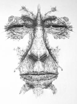 RORSCHARCH MAMÁ (detalle díptico)