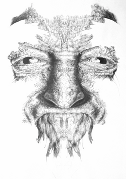 RORSCHARCH PAPÁ (detalle díptico)
