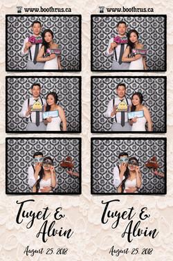 Tuyet & Alvin Wedding