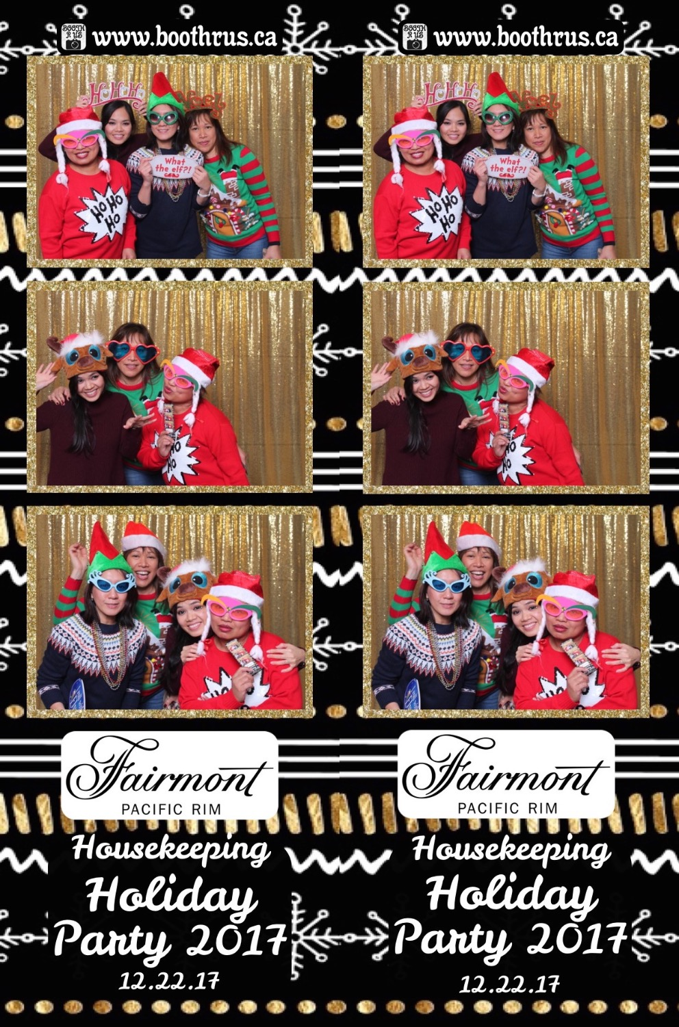 Fairmont Holiday Party