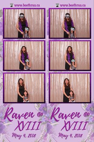 Raven's XVIII Birthday